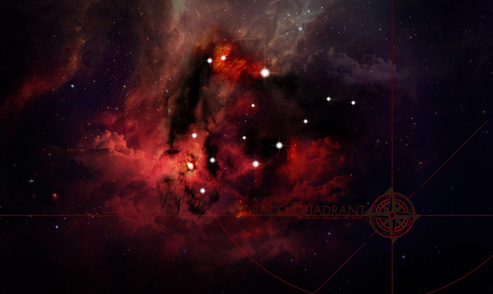 Draco Star Map