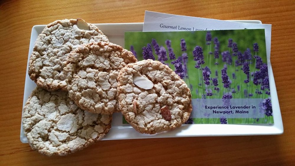 O.A.T. Lemon Lavender Tea Cookies