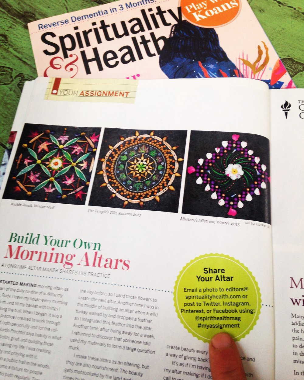 Spirituality & Health Magazine -- May / June 2016
