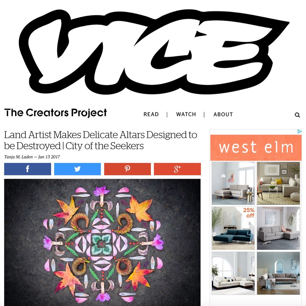 Vice - The Creator's Project -- January 2017