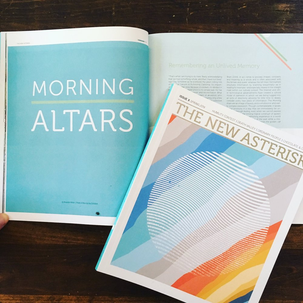 The New Asterisk -- Spring 2016