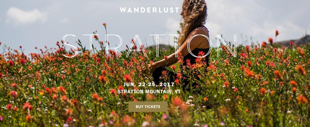 Wanderlust Festival - WV, VT, CO, CA, Montreal - 2016 / 2017