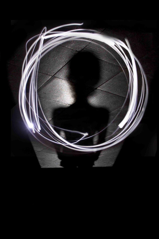 Profilo di Federico -Lightpainting