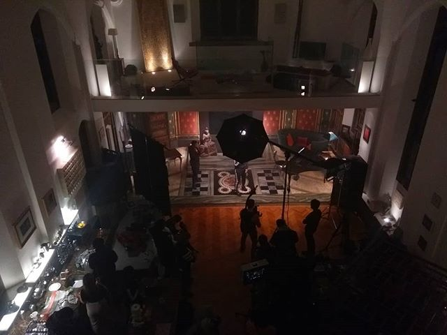 Converted church - Music Video. I'm playing an accountant.