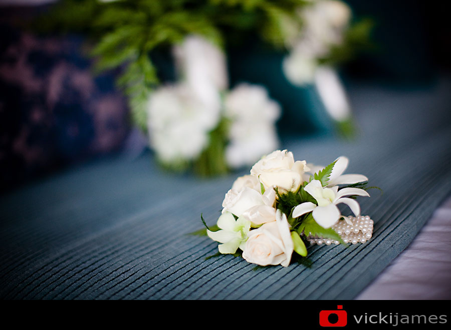Yamba Wedding Photographer, Vicki James, Bridesmaids Bouquet
