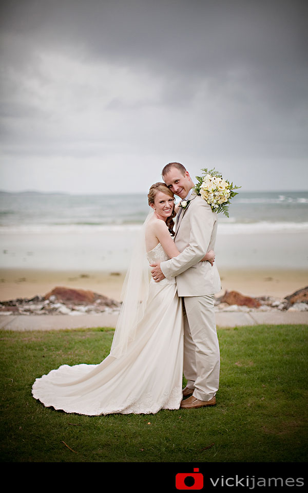 Yamba Wedding Photographer, Vicki James, Beach Wedding
