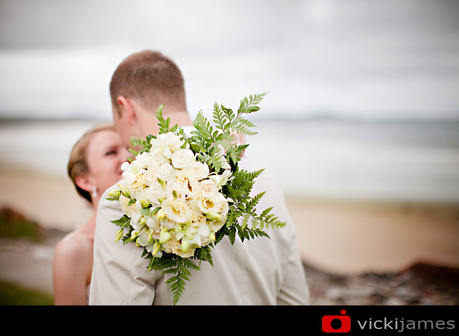 Yamba Wedding Photographer, Vicki James, Brides Bouquet