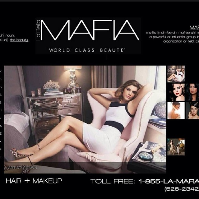 An awesome agency! Check them out for hair and makeup and ask for me!! #labellamafia #labellamafiadallas #makeupartist #hairstylist #dallas #fortworth #beauty #wedding
