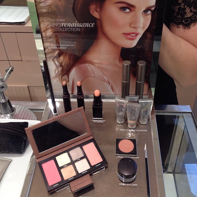 I LOVE the new #SpringRenaissance by #LauraMercier absolutely beautiful!! #springbeauty #flawlessface #freshmakeup