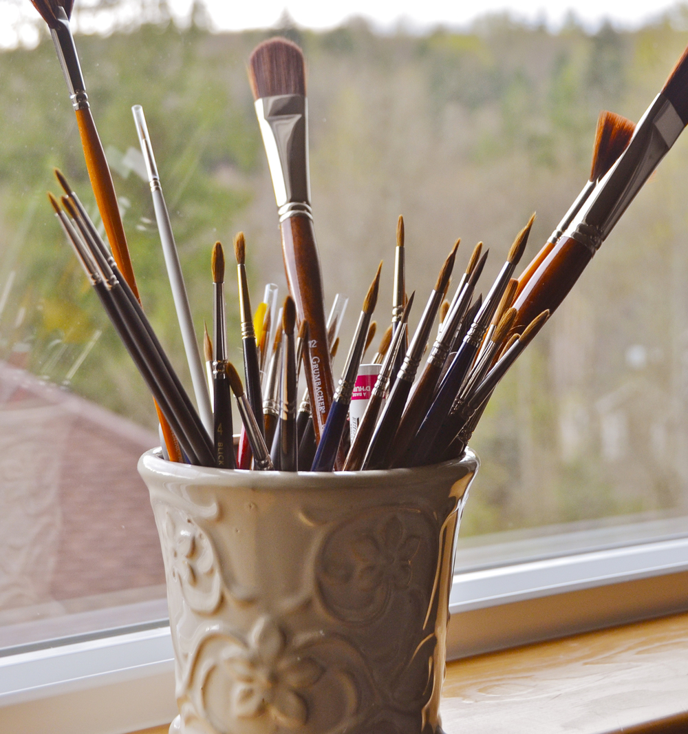 My favorite brushes.