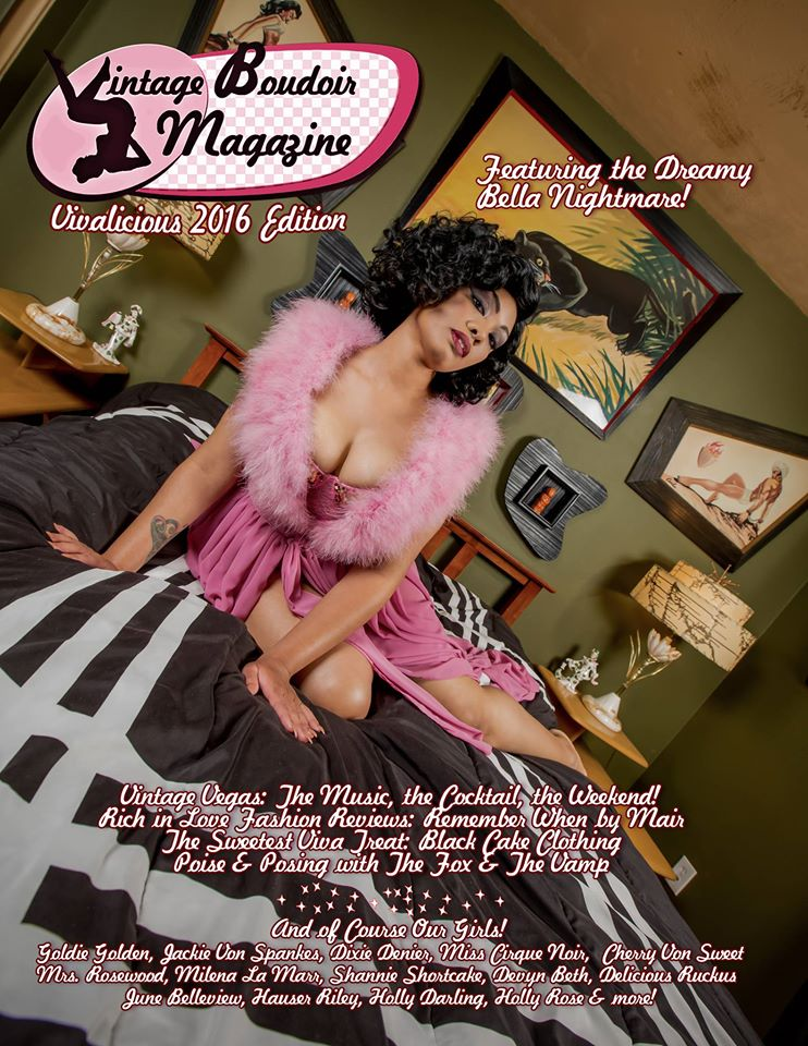 http://perpretor.wixsite.com/vintageboudoirmag  Vintage Boudoir Magazine | MagCloud A magazine about retro lingerie and vintage silhouettes from the 1920's to the 1950's featuring some of today's most beautiful pin-up girls and vintage dames from all over the world.   to order   http://www.magcloud.com/user/yondelara