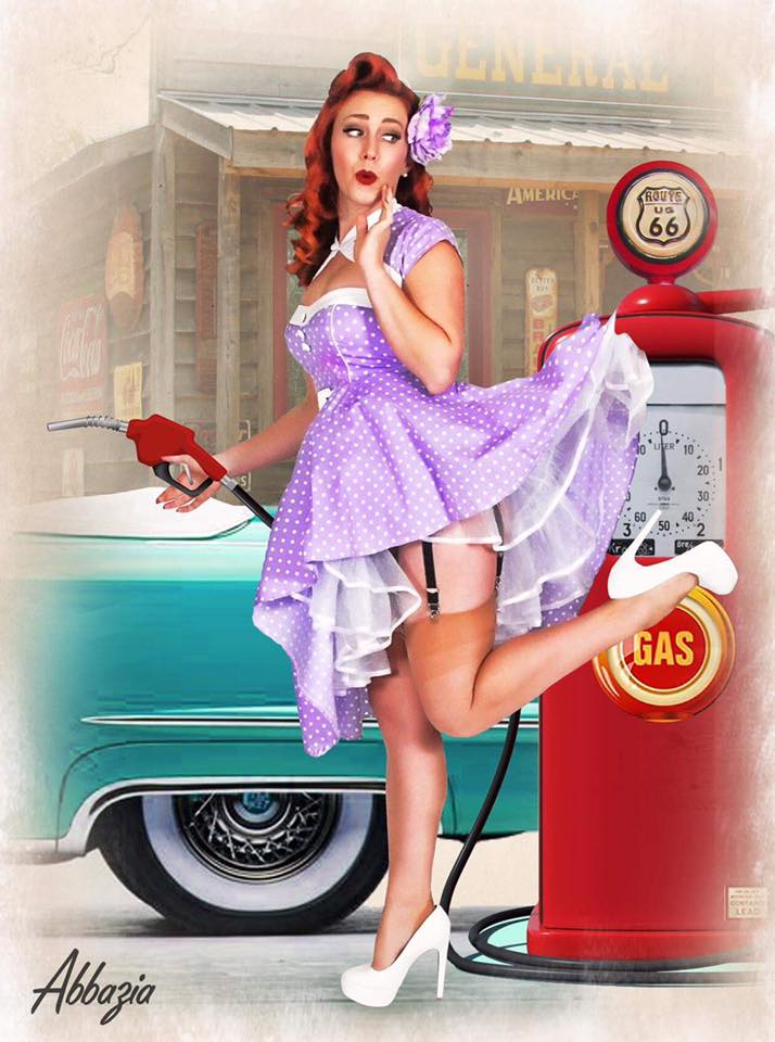 Millie Michelle   National Secretary       Photo by Abbazia   Florida born Millie Michelle recently came home from Las Vegas to follow her pinup dream. She loves the bright neon lights, vintage shopping and treasure hunting. She started pinup modeling to show how a little red lipstick and a smile bring a world of confidence! Miss Michelle has been taking the pinup world by storm attending events around the country. Most recently Millie paced 3rd in the Miss Tiki Oasis Pageant. She has graced the pages of many pin up publications and been featured as a cover girl for both Delicious Dolls and Pinups and Hotrods Magazines. Millie also loves fast cars, all things cat, and tiki, especially when combined!     http://www.milliemichelle.com