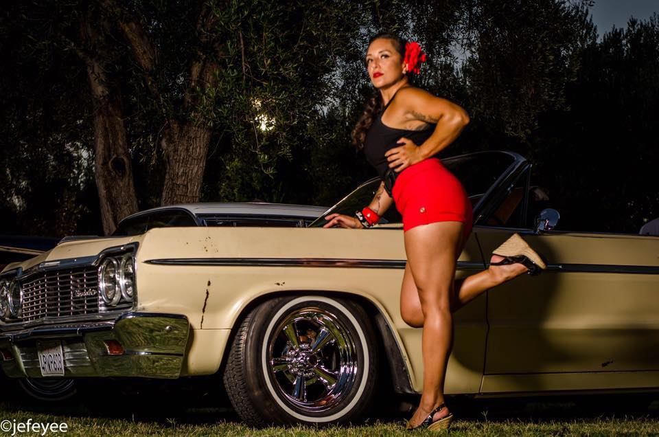 Doña Perfecta                                             Photo 11B Photography  Central American gal, Bay Area born and raised! Lover of the glamorous vintage life, born in the wrong era!! Hot rods, tattoos, muscles, and old school flavor are my favorite things! Where there's beautiful people, loud music and even louder cars is where you'll find me!