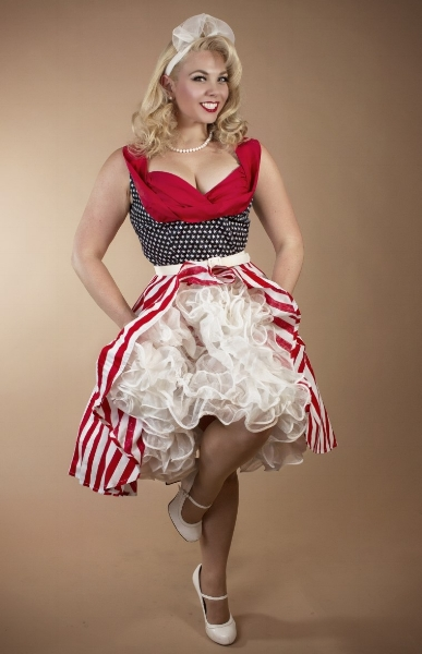 - Shannie Shortcake-Potential  Photo by Jeff PobstShannie Shortcake is a Cali-born pinup living in Phoenix Arizona. Home is where her heart is, and that is where her Grandma lives...Las Vegas. She is a patriotic pinup who sings, dances and crafts her way into your heart.