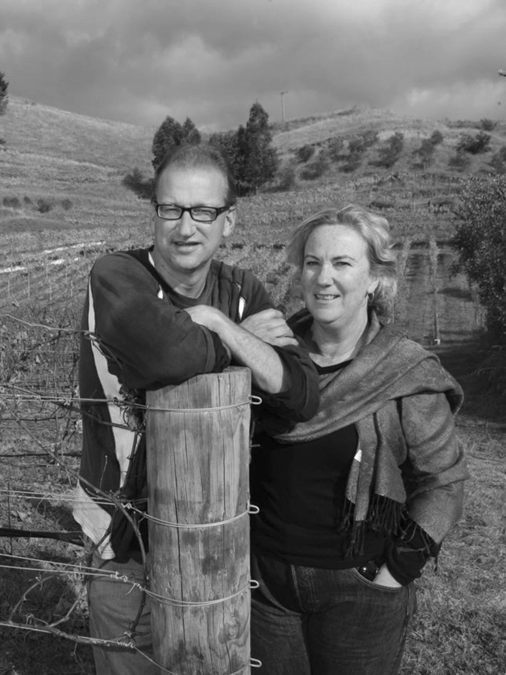 Vintage Stories - Episode 37 - Warren Gibson (pictured with wife and partner in wine, Lorraine Leheny)
