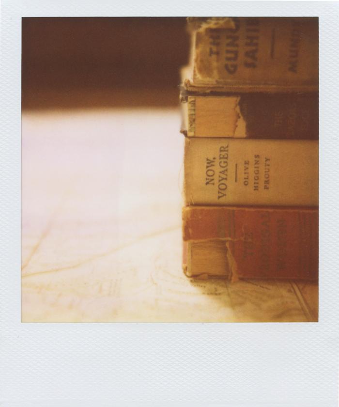 gaby j photography vintage books polaroid 05