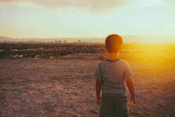las vegas sunset gaby j 1