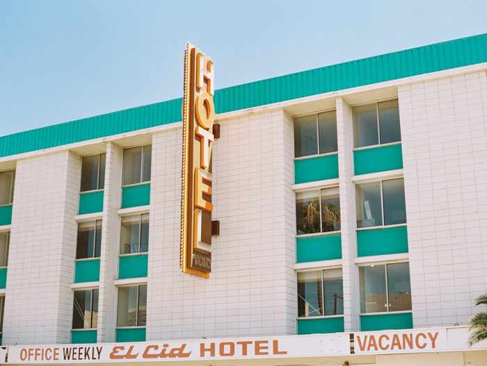 vintage las vegas el cid hotel photo