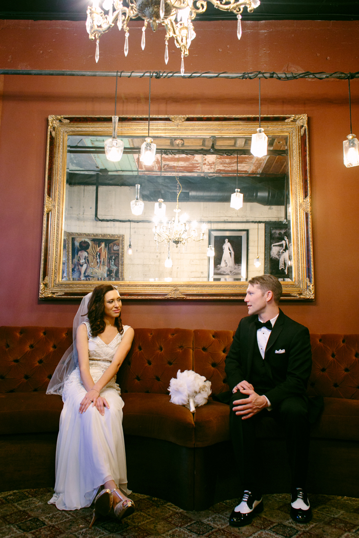 great gatsby themed speakeasy las vegas wedding 1