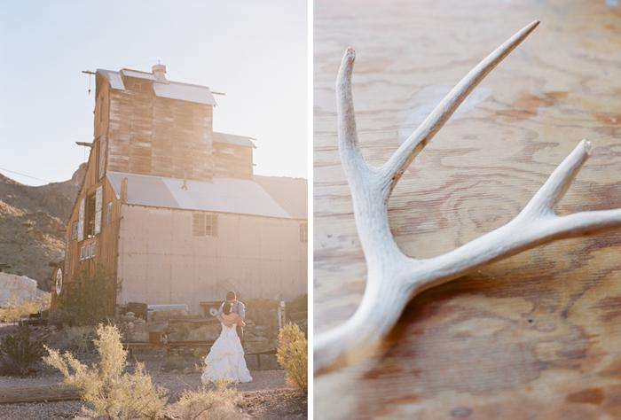 nelson landing ghost town rustic vegas wedding 15