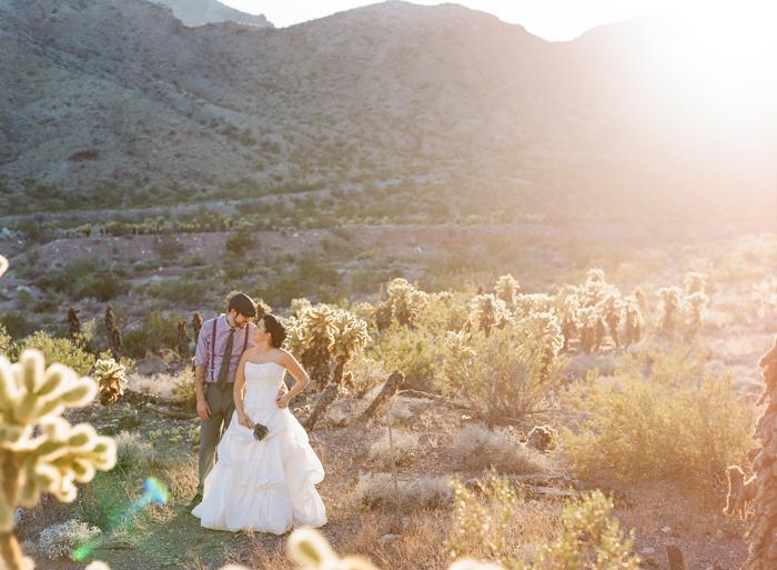 nelson landing ghost town rustic vegas wedding 19