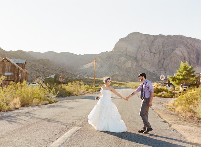 nelson landing ghost town rustic vegas wedding 21
