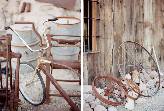 nelson landing ghost town rustic vegas wedding 31