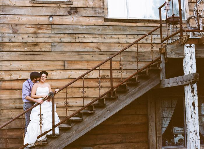 nelson landing ghost town rustic vegas wedding 40