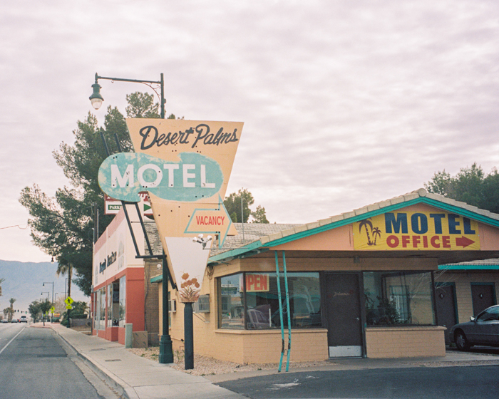 desert palms motel in mesquite