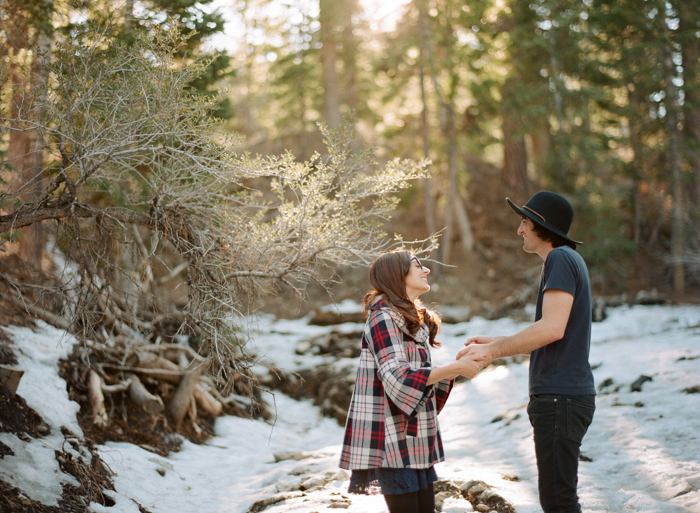 mt charleston las vegas indie engagement photo snow winter 22
