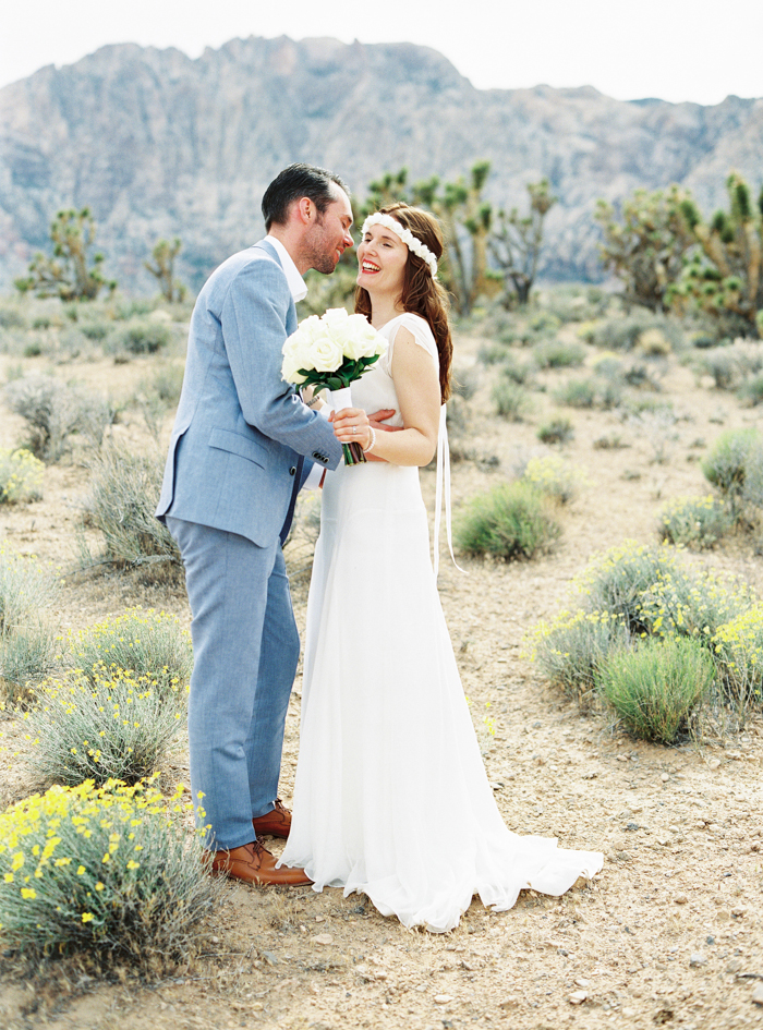 las vegas desert wildflower wedding photographer