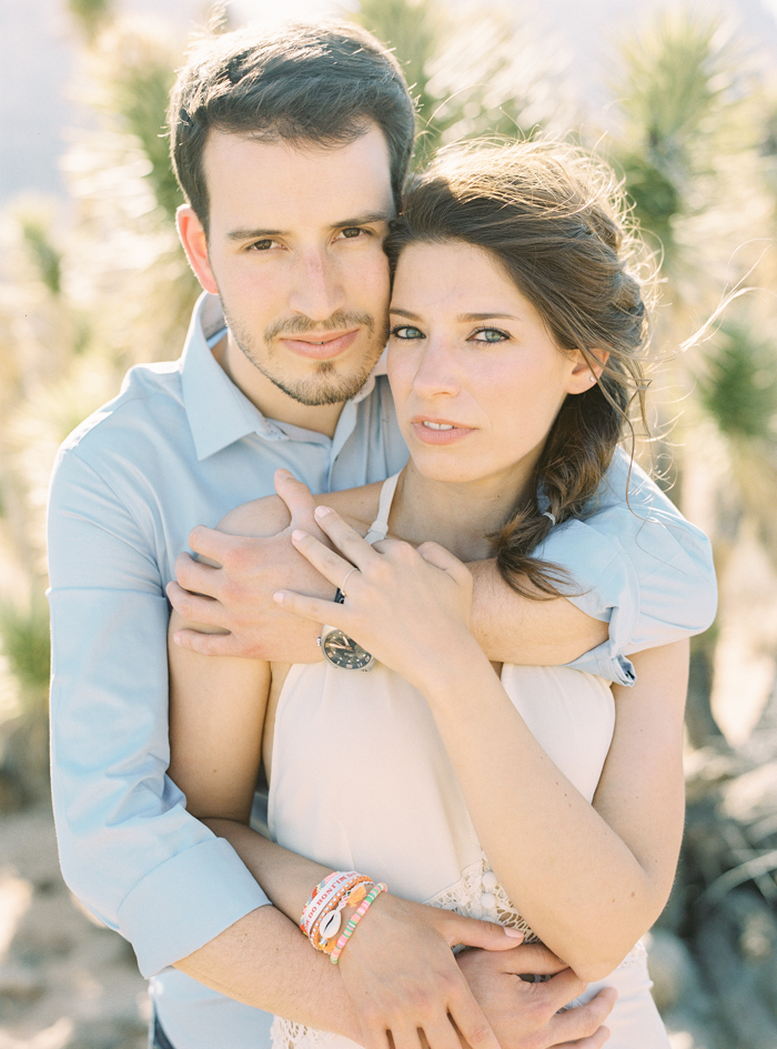 las vegas boho engagement photo