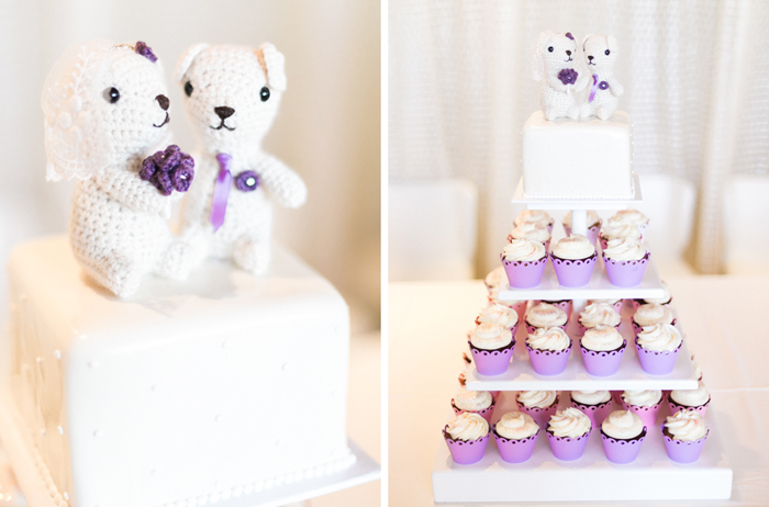penthouse suite las vegas classic wedding cupcakes