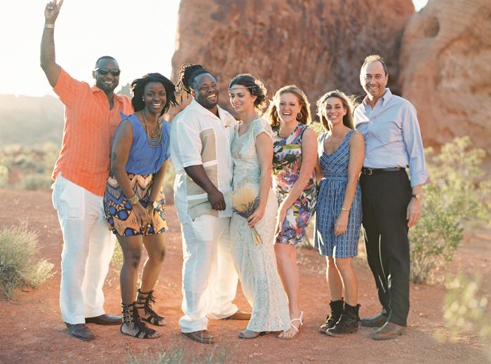 valley of fire boho desert wedding 9