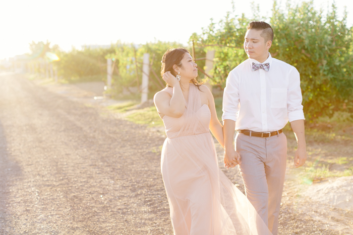 las vegas gilcrease orchard engagement photo 2