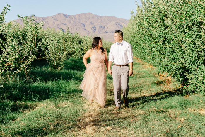 las vegas gilcrease orchard engagement photo 4