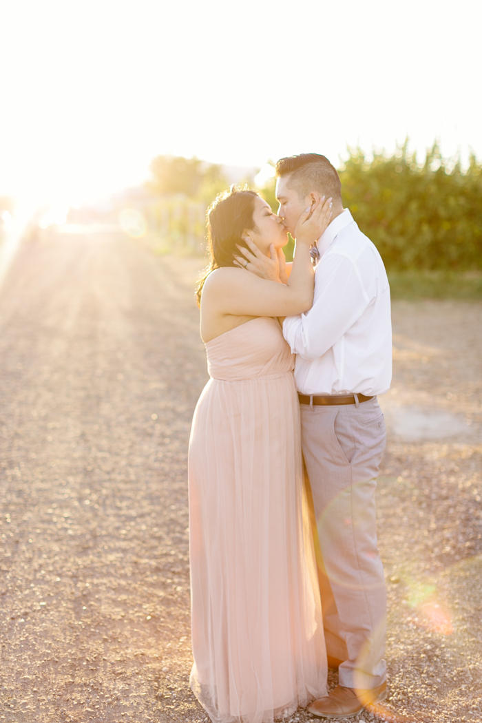 Las Vegas Gilcrease Orchard Engagement Photography Gaby