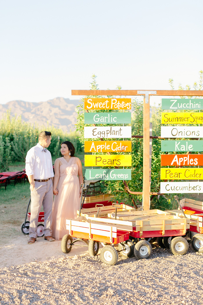 las vegas gilcrease orchard engagement photo 8