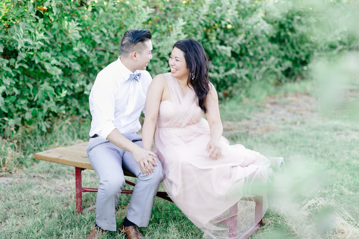 las vegas gilcrease orchard engagement photo 13