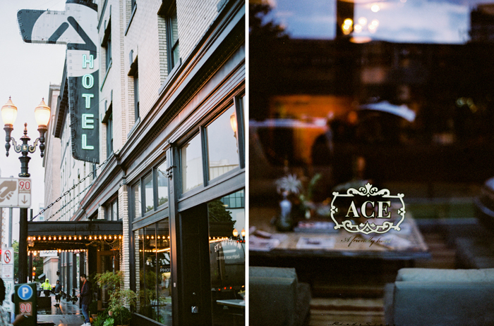 downtown portland ace hotel on film