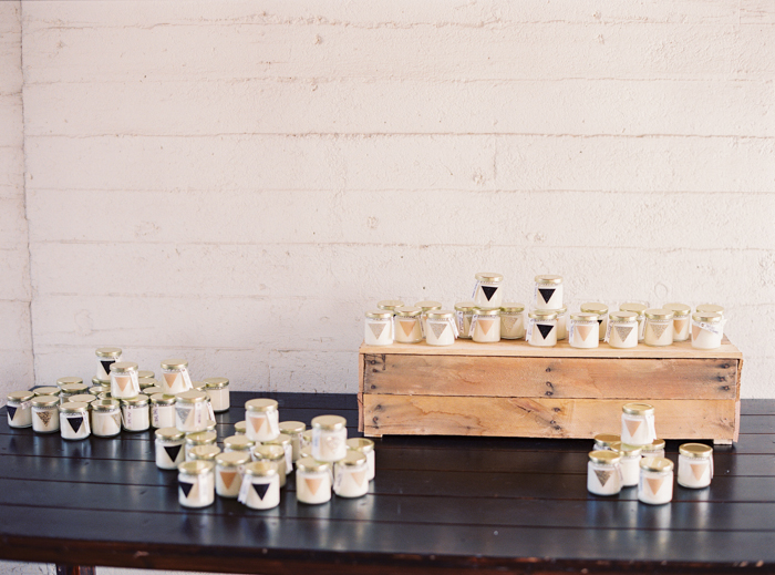 las vegas custom candle wedding favors