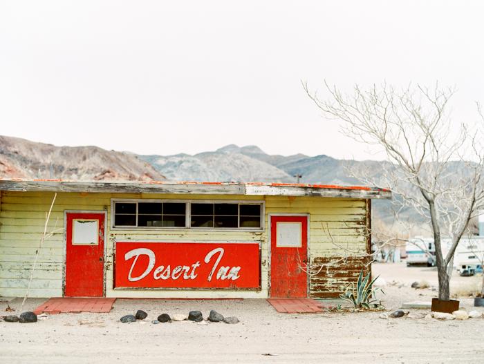 desert inn motel on film