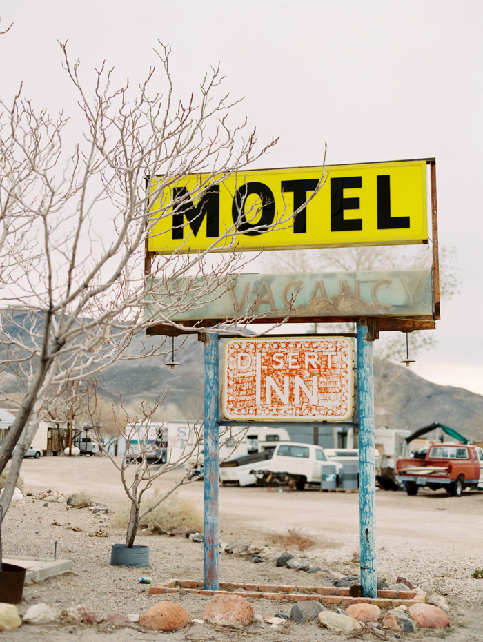 desert inn motel sign beatty nv gaby j photo