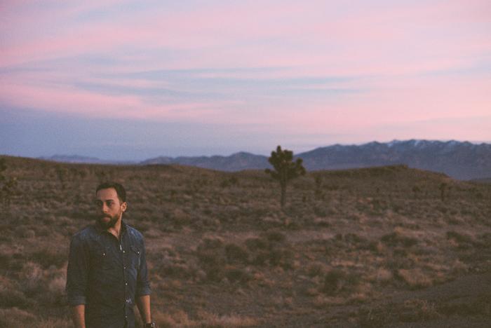 ted johnson sunset in the desert