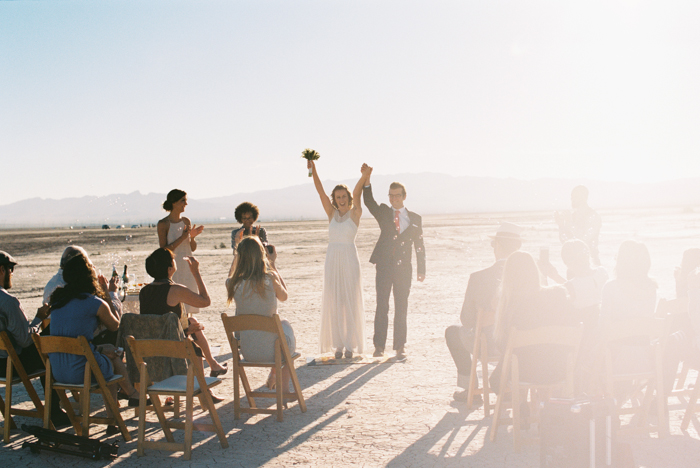 intimate indie desert vegas wedding photo 18