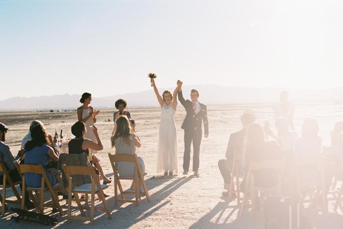 intimate indie desert vegas wedding photo 18