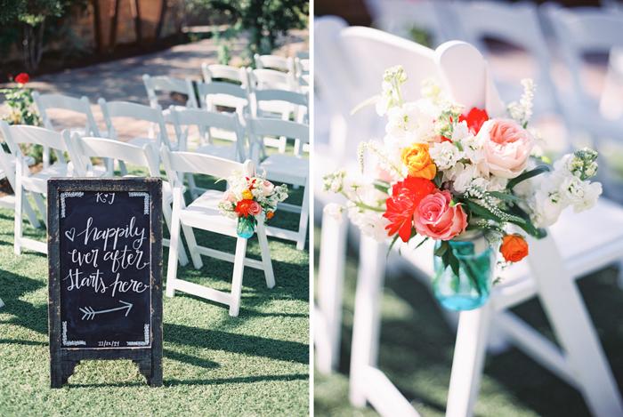 romantic desert arboretum vegas wedding photo 7