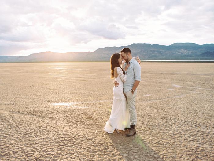 grace loves lace wedding dress in the desert