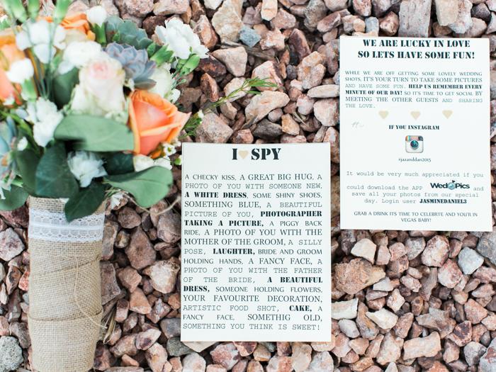 succulently urban wedding bouquet