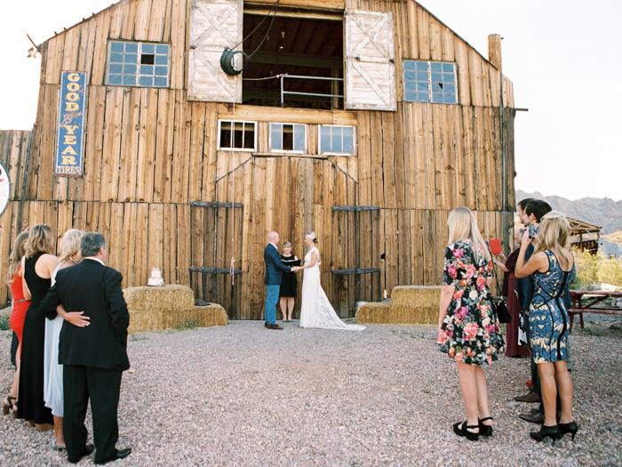 nelson ghost town rustic destination vegas wedding peachy keen unions